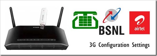 Dlink-Router-3G-Configuration-for-MTNL-BSNL-Airtel